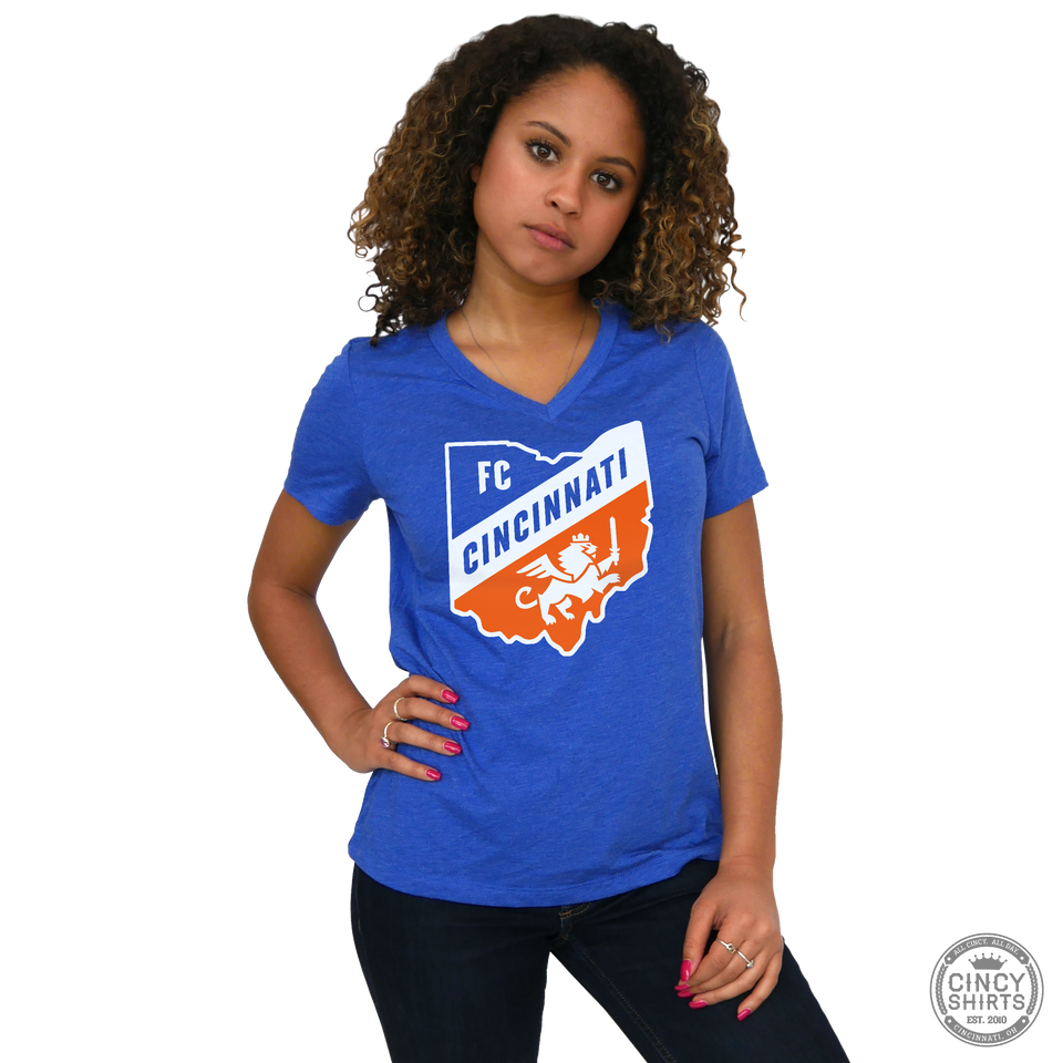 FC Cincinnati Ohio Logo - Cincy Shirts
