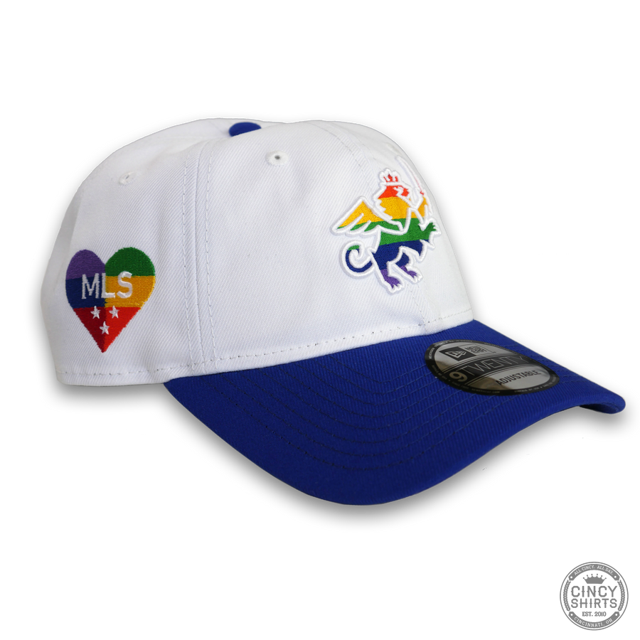 FC Cincinnati Hat - Rainbow Pride Lion