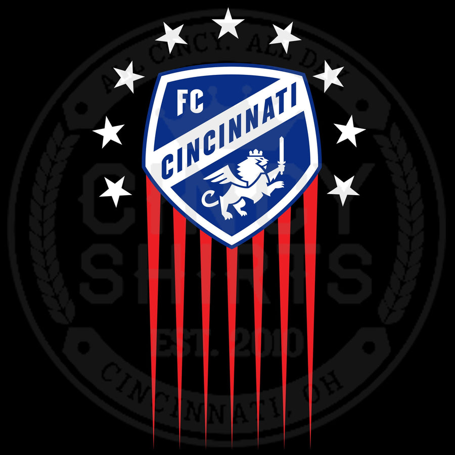 FC Cincinnati Americana Shield - ONLINE EXCLUSIVE - Cincy Shirts