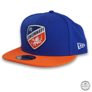 FC Cincinnati Royal Snapback Hat - Cincy Shirts