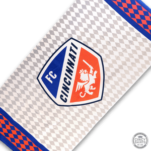 FC Cincinnati Beach Towel - Cincy Shirts