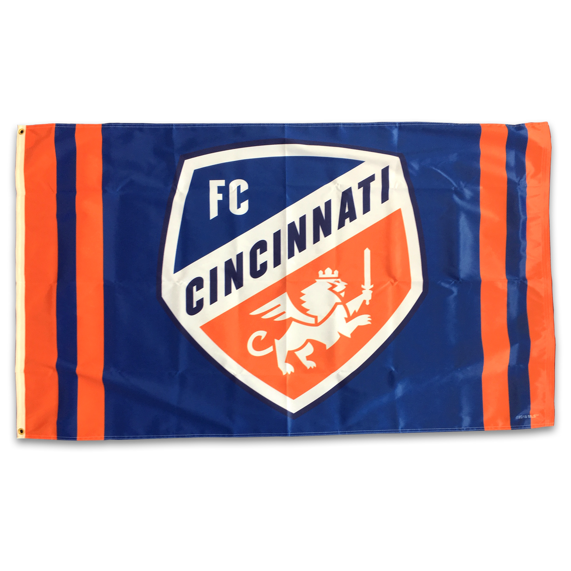 FC Cincinnati Primary Shield Flag - Cincy Shirts