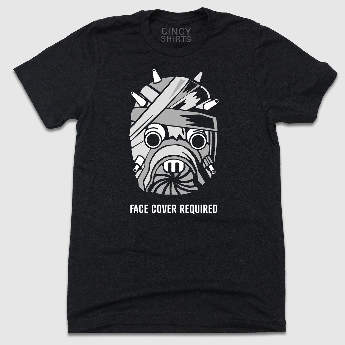 Face Cover Required - Cincy Shirts