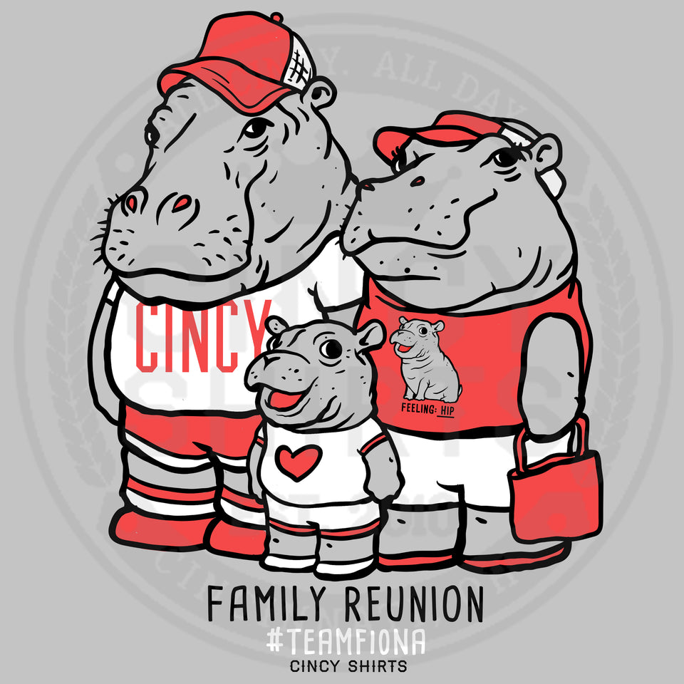 Fiona Family Reunion - Adult Sizes - Cincy Shirts
