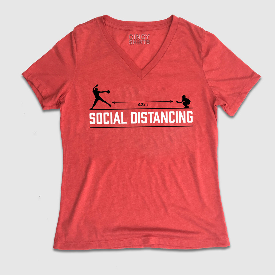 Social Distancing - Fastpitch Softball - Cincy Shirts