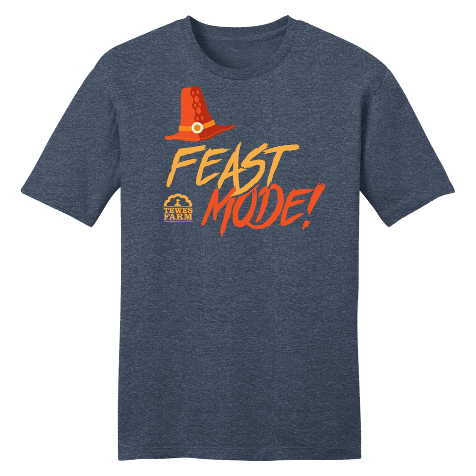 Feast Mode Thanksgiving Tee - Cincy Shirts