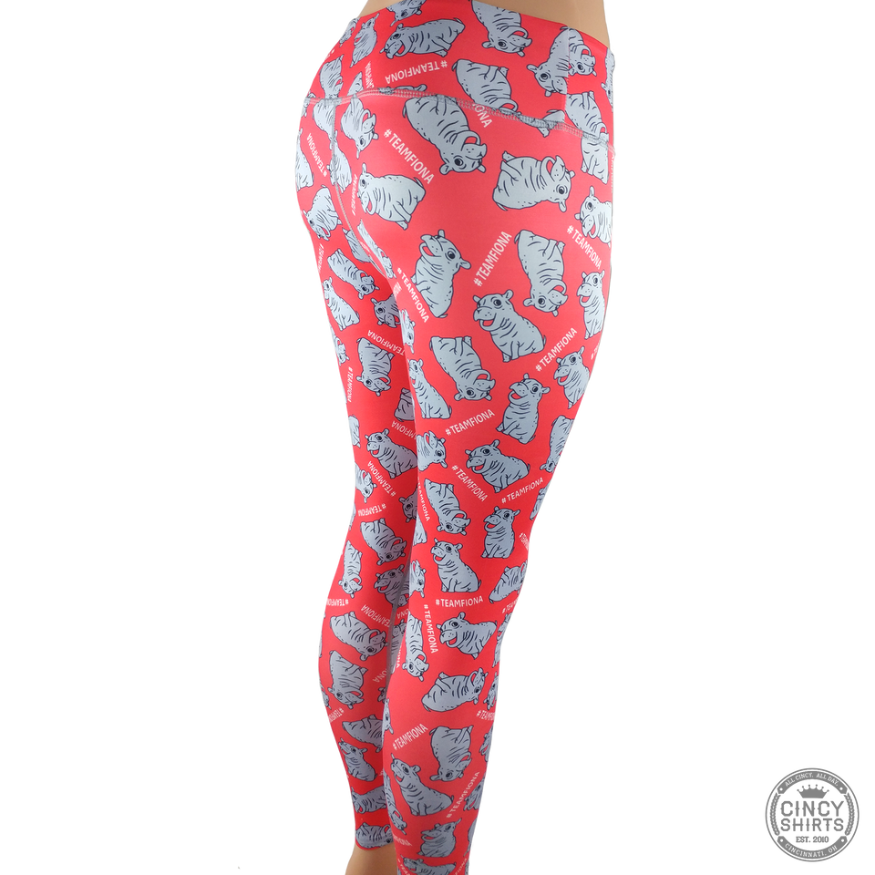 Fiona Feeling Hip Leggings - Youth Sizes - Cincy Shirts