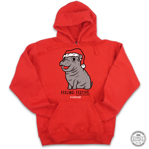 Fiona Feeling Festive Holiday Hoodie - Cincy Shirts