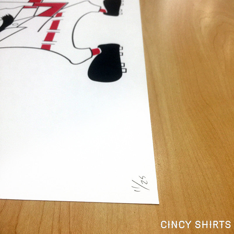 Fighting Nati Patty's Day Limited Edition Poster - Cincy Shirts