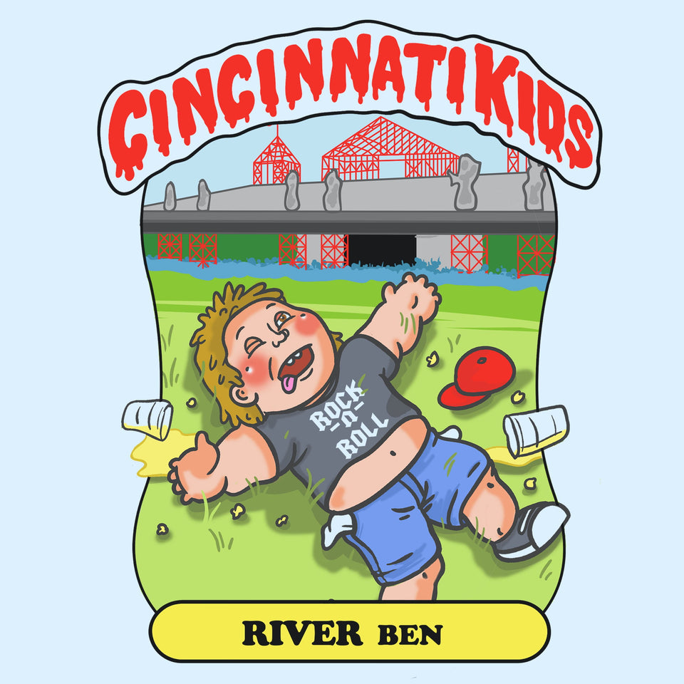 Cincinnati Kids - River Ben - Cincy Shirts