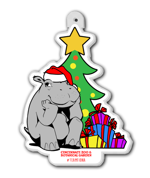 Fiona Christmas Ornament 2020 - Cincy Shirts