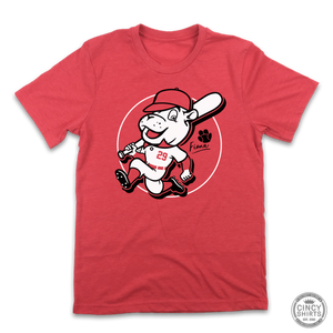 Team Fiona Baseball Player Tee - Cincy Shirts