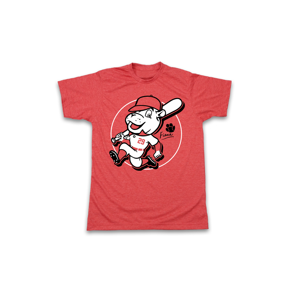 Team Fiona Baseball Player Tee - Youth Sizes - Cincy Shirts