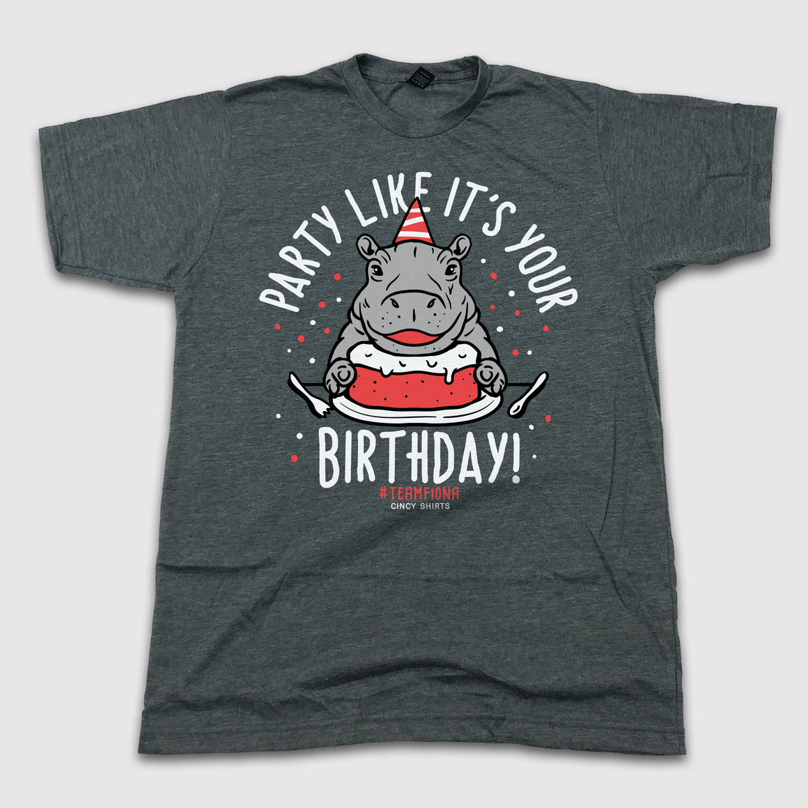 Team Fiona Birthday Tee - Cincy Shirts