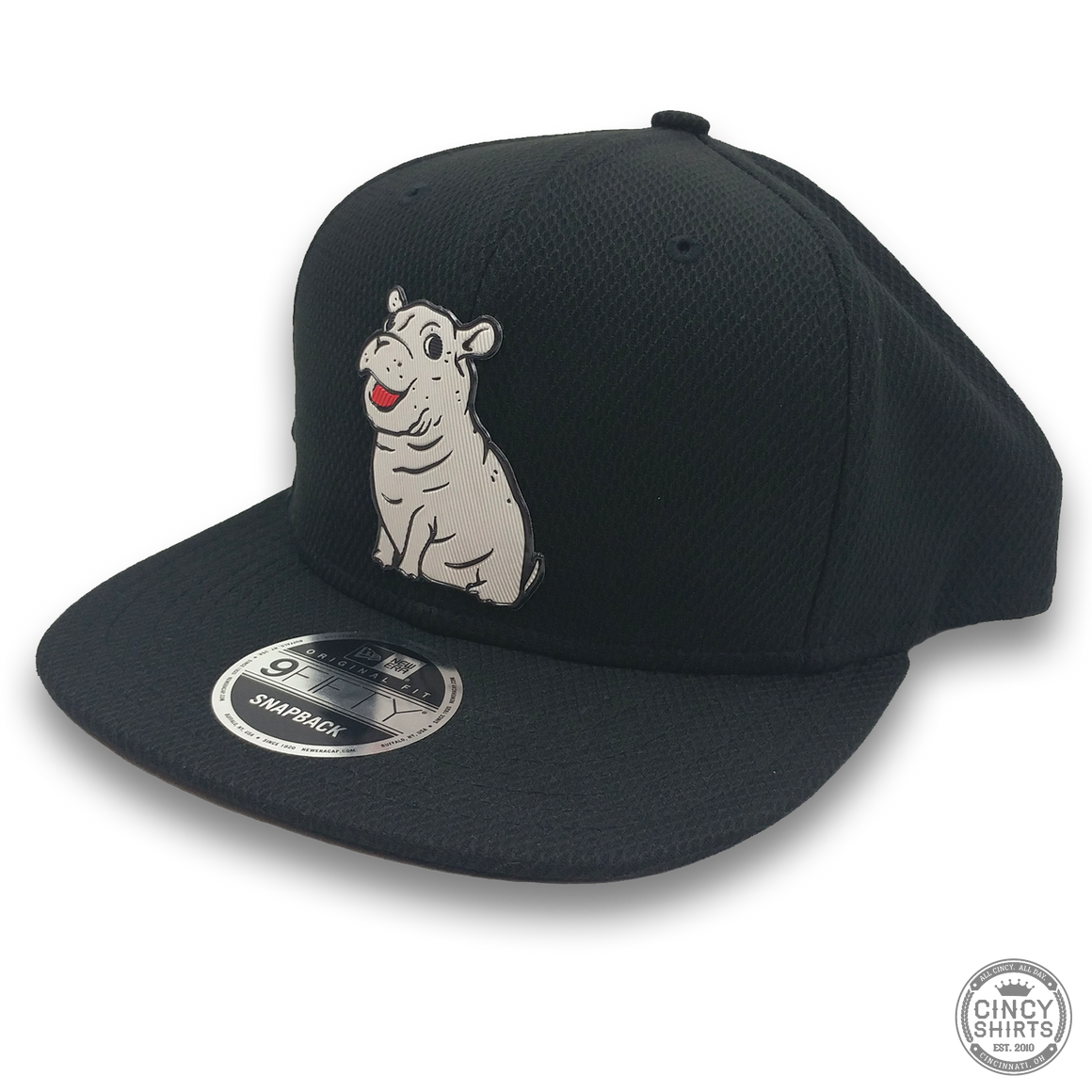 Fiona Black Snapback Hat - Cincy Shirts