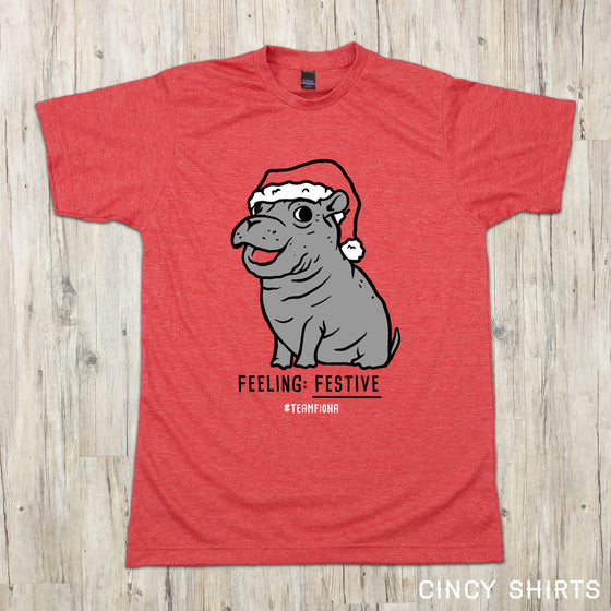 Fiona Feeling Festive Holiday Tee