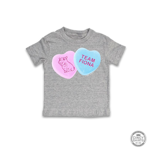 Fiona Candy Hearts - Youth Sizes - Cincy Shirts