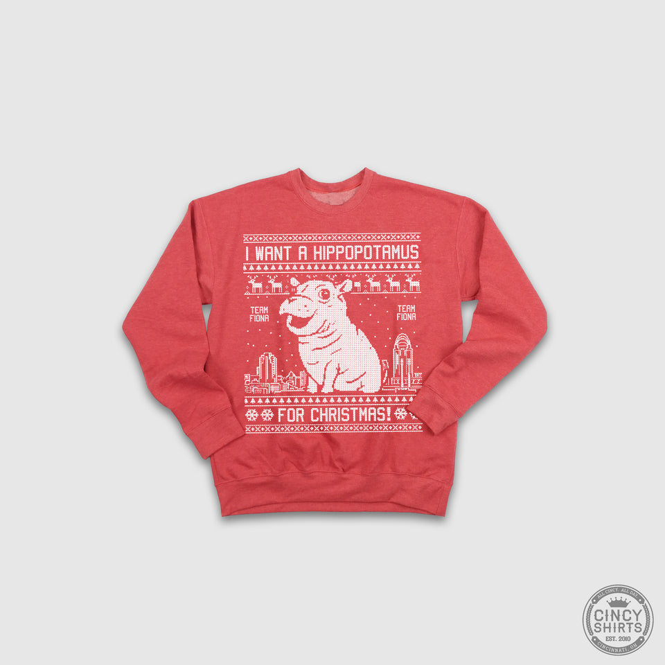 Youth Fiona Christmas Sweatshirt - Cincy Shirts