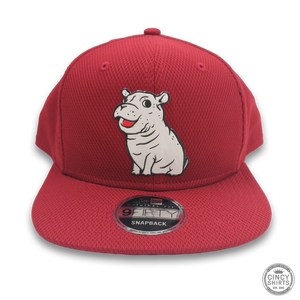 Fiona Red Snapback Hat