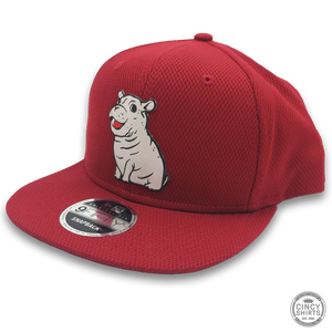 Fiona Red Snapback Hat - Cincy Shirts