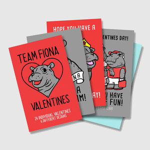Fiona Valentine's Day Cards - Cincy Shirts