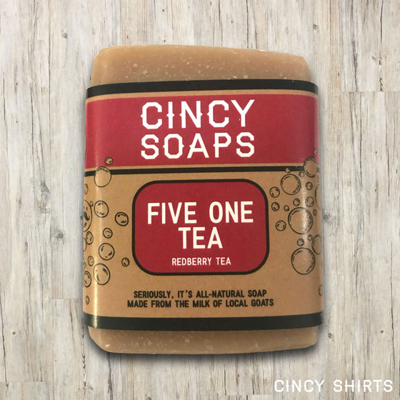 Five One Tea soap