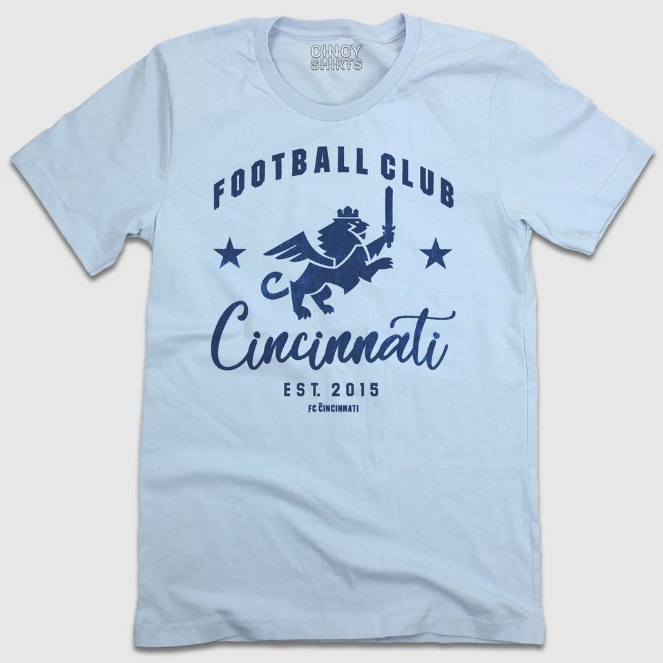 Football Club Cincinnati EST 2015 - Cincy Shirts