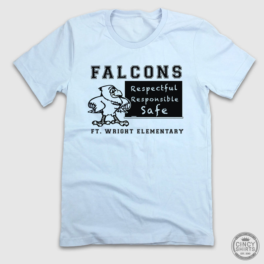 Falcons Respectful, Responsible, Safe - Adult & Youth Sizes - Cincy Shirts