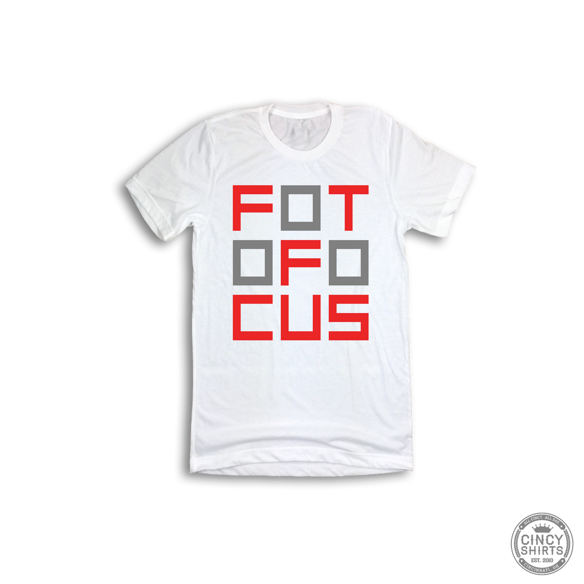 Youth FotoFocus Logo - ONLINE EXCLUSIVE - Cincy Shirts