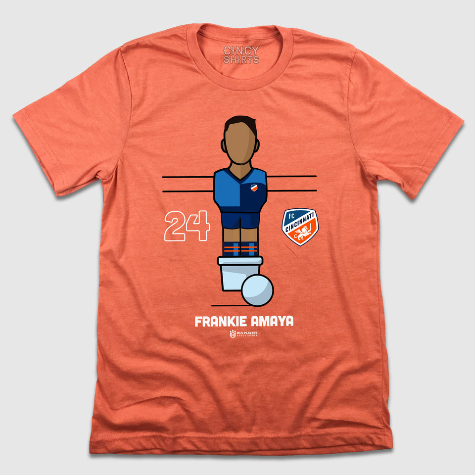 Official Frankie Amaya Foosball Player Tee - Cincy Shirts
