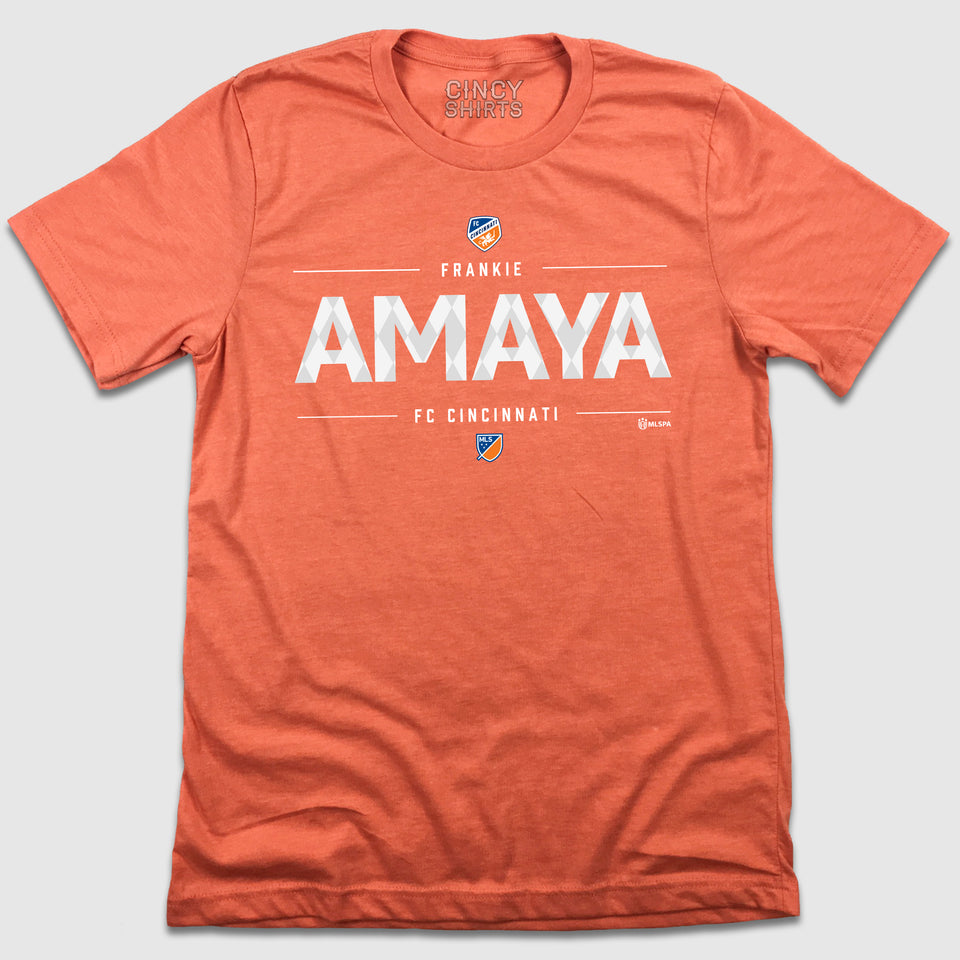 Official Frankie Amaya MLSPA Designer Tee - Cincy Shirts