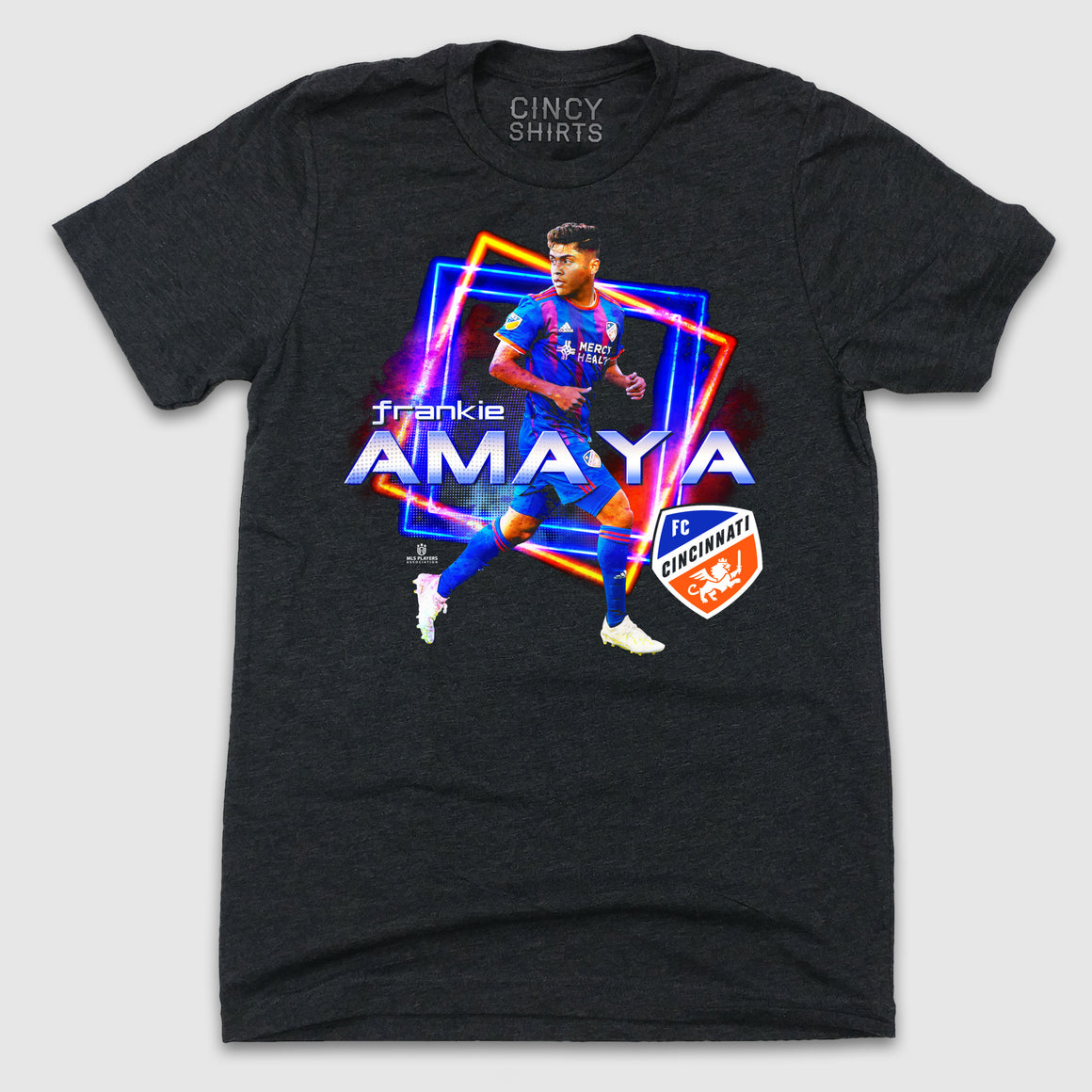 Official Frankie Amaya MLSPA Spotlight Tee - Cincy Shirts