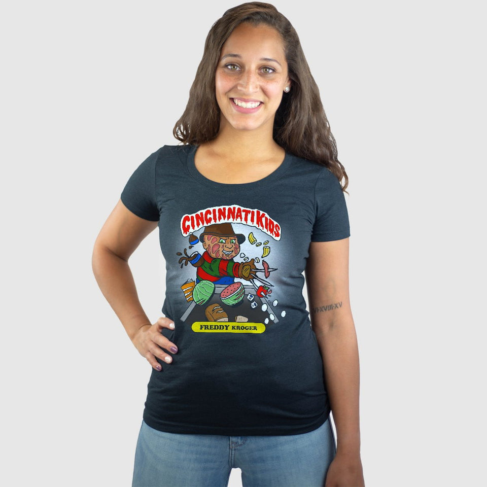 Cincinnati Kids - Freddy Kroger - Cincy Shirts