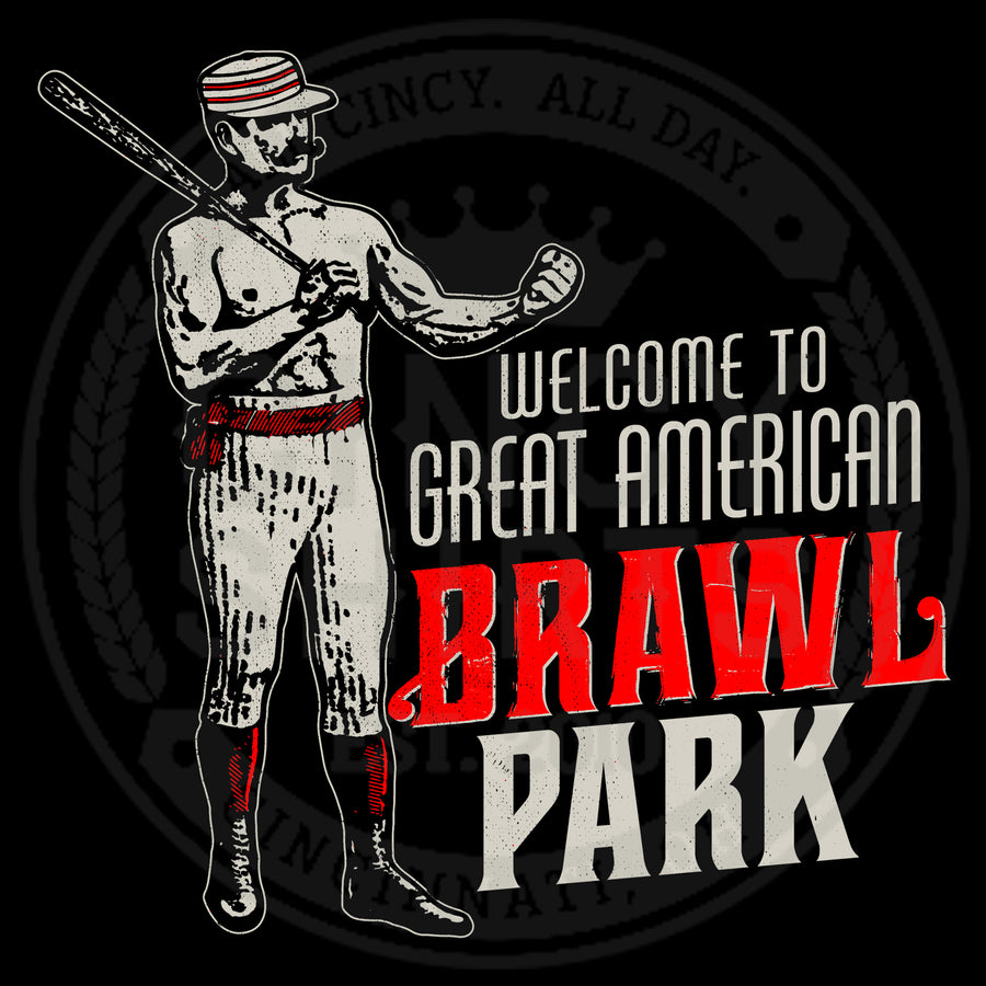 Great American Brawl Park - Cincy Shirts