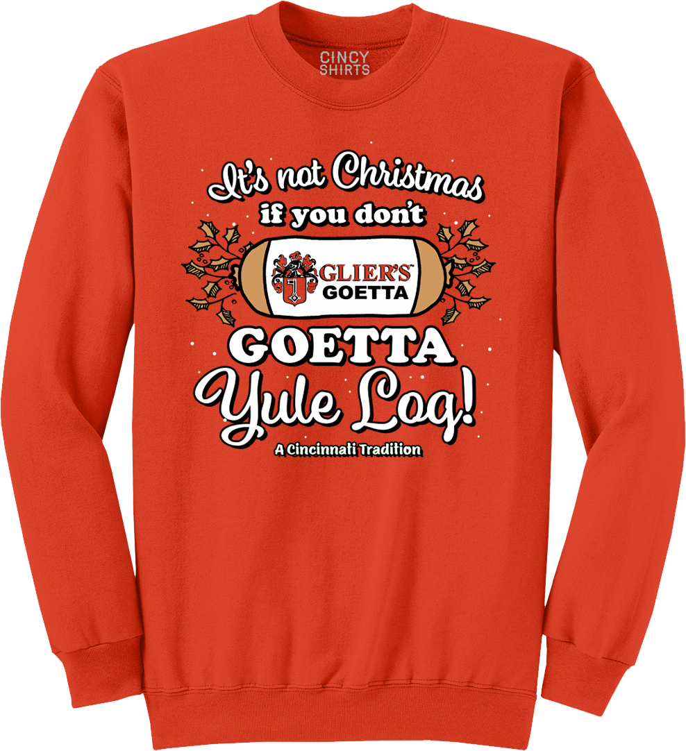 Goetta Yule Log - Cincy Shirts