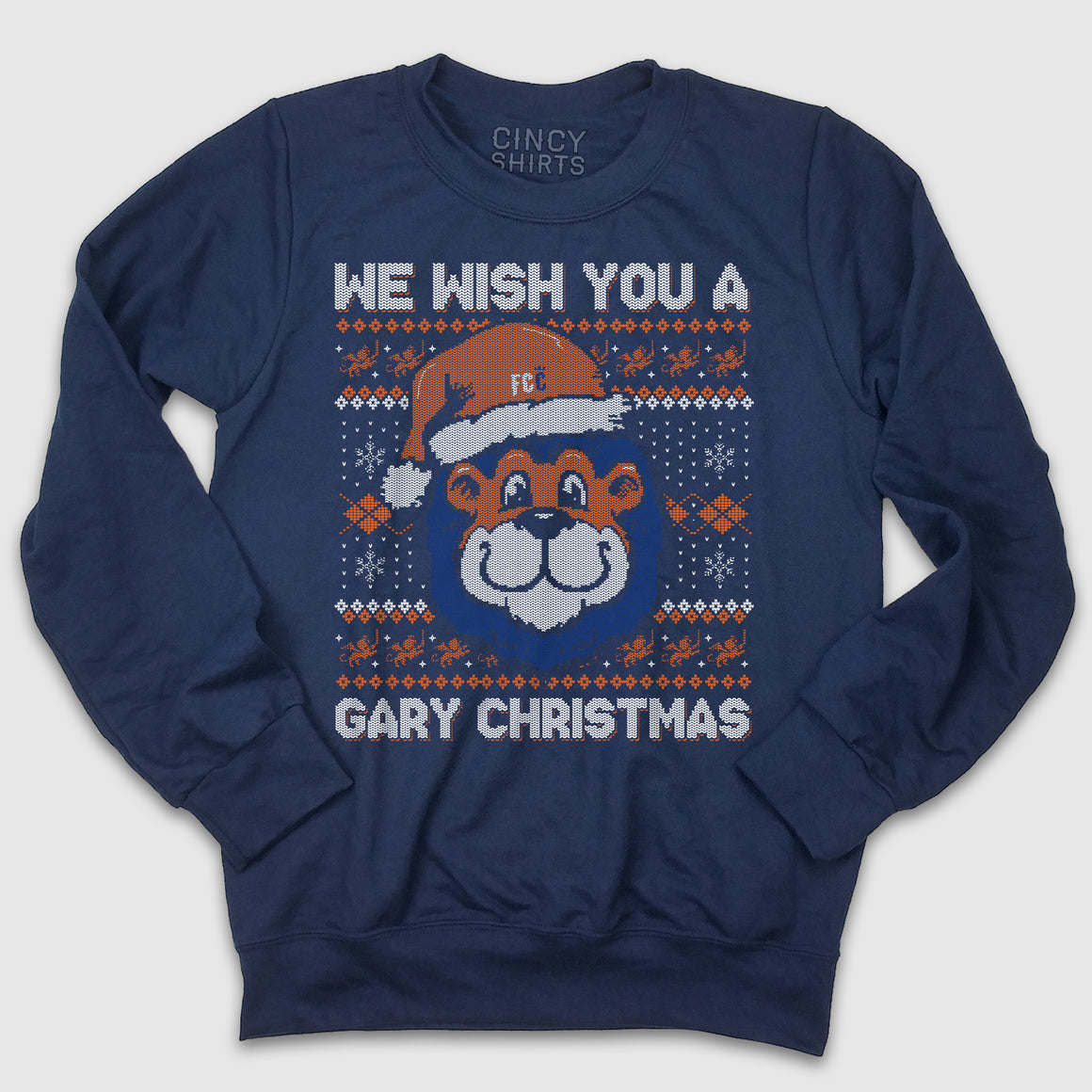 Gary Christmas - FC Cincinnati Christmas Sweatshirt - Cincy Shirts