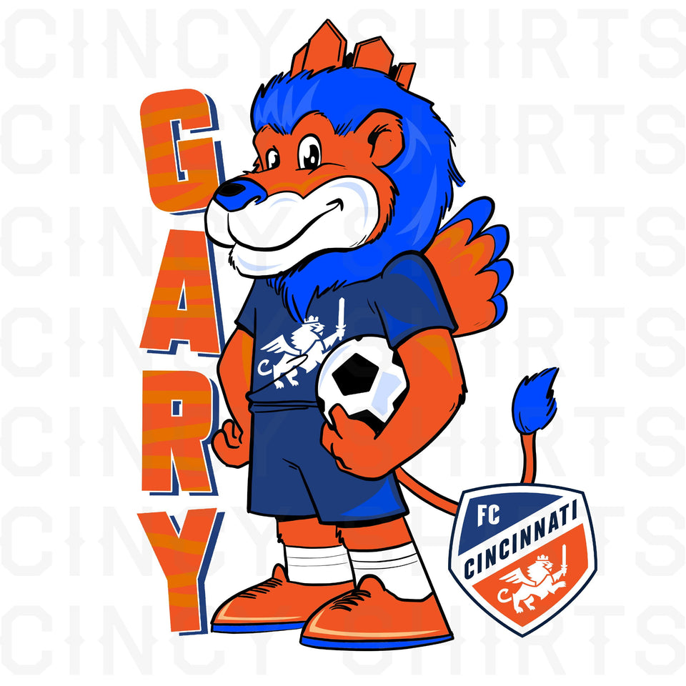 FC Cincinnati - Youth Gary The Lion - Cincy Shirts