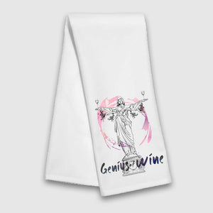 Genius of Wine Tea Towel - Cincy Shirts