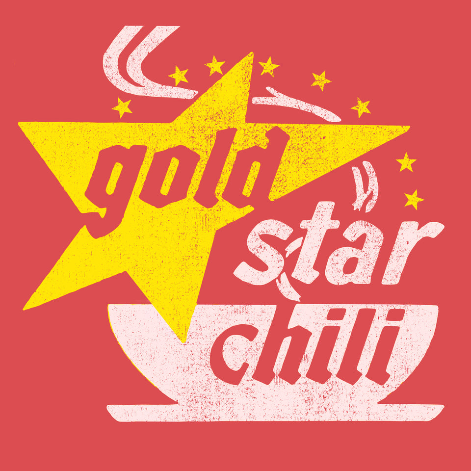 Gold Star Chili Retro Logo - Cincy Shirts
