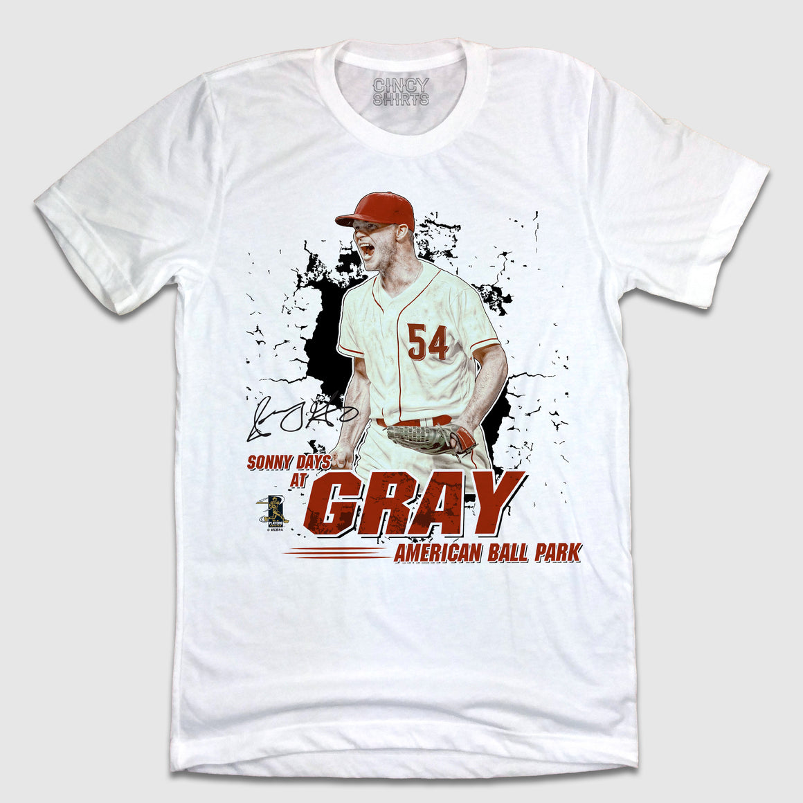 Official Sonny Gray MLBPA Tee