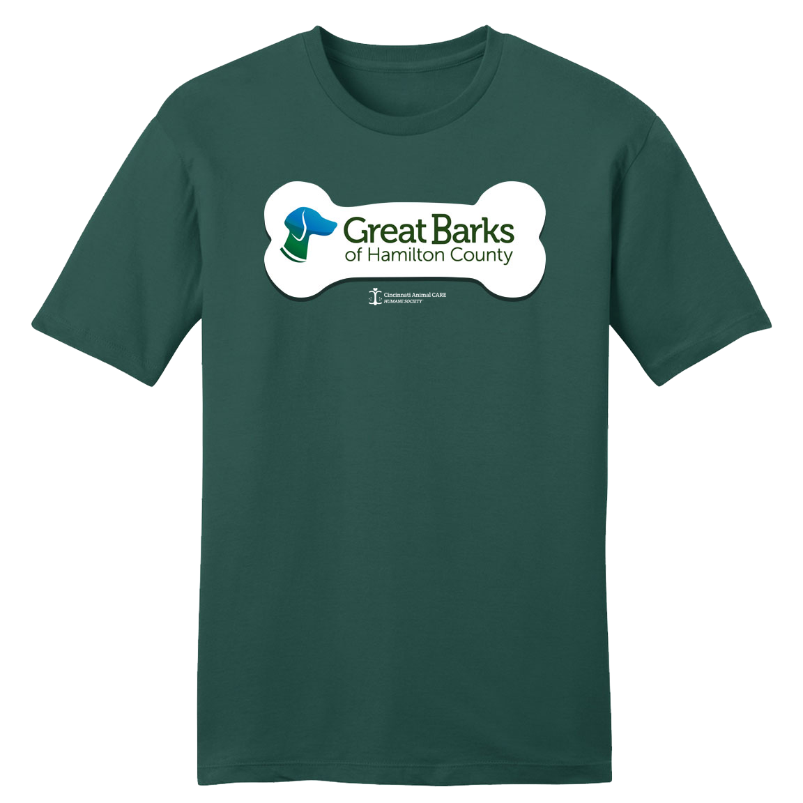 Great Barks - CARE - Cincy Shirts