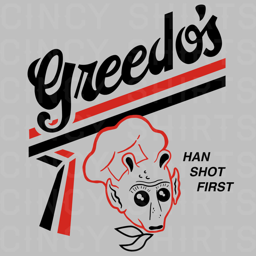 Greedo's Potato Chip T-shirt