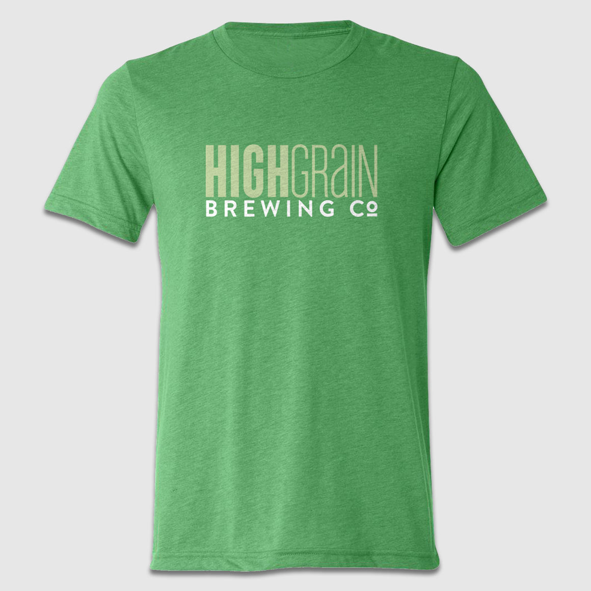 HighGrain Brewing Company Text Front & Back Tee Design - Cincy Shirts