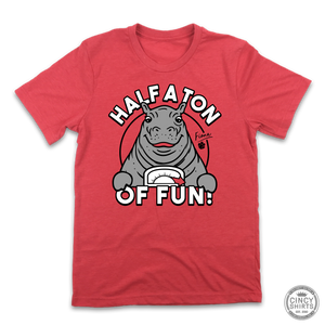 "Fiona 1K ""Half A Ton Of Fun"" - Cincy Shirts"