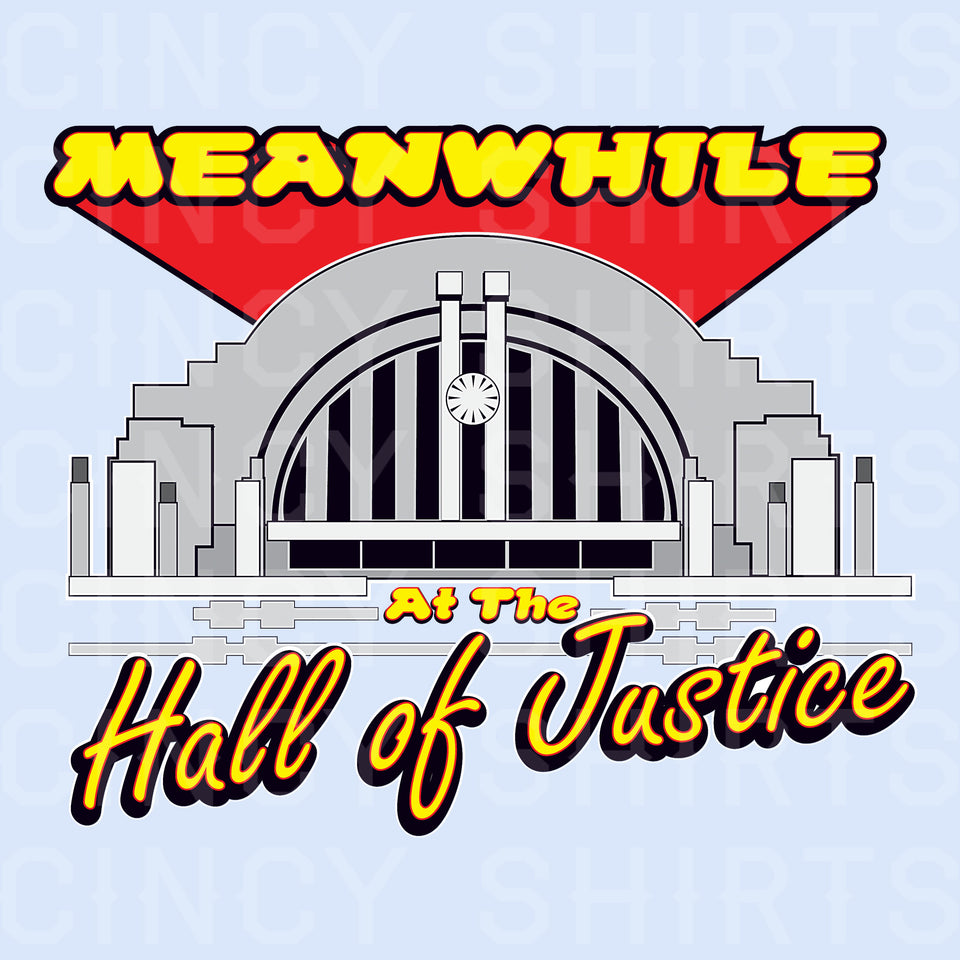 Hall of Justice - Cincy Shirts