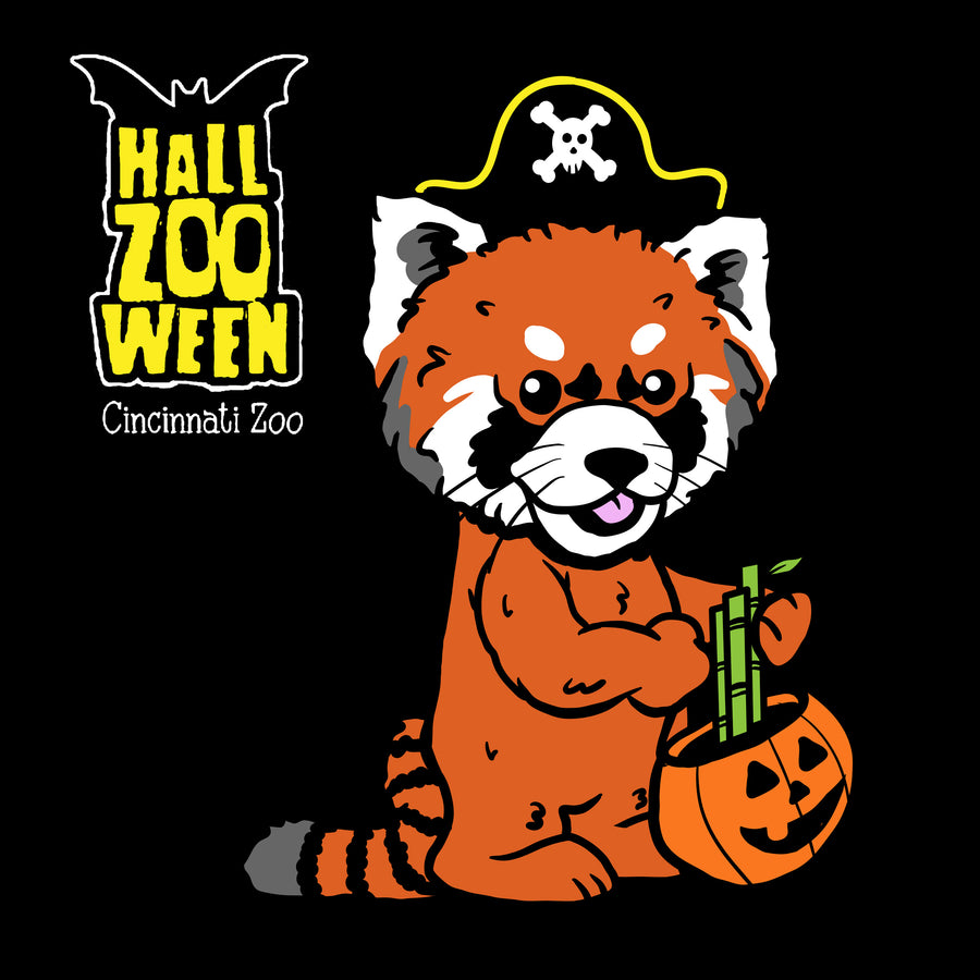 HallZOOween Red Panda Harriet T-shirt