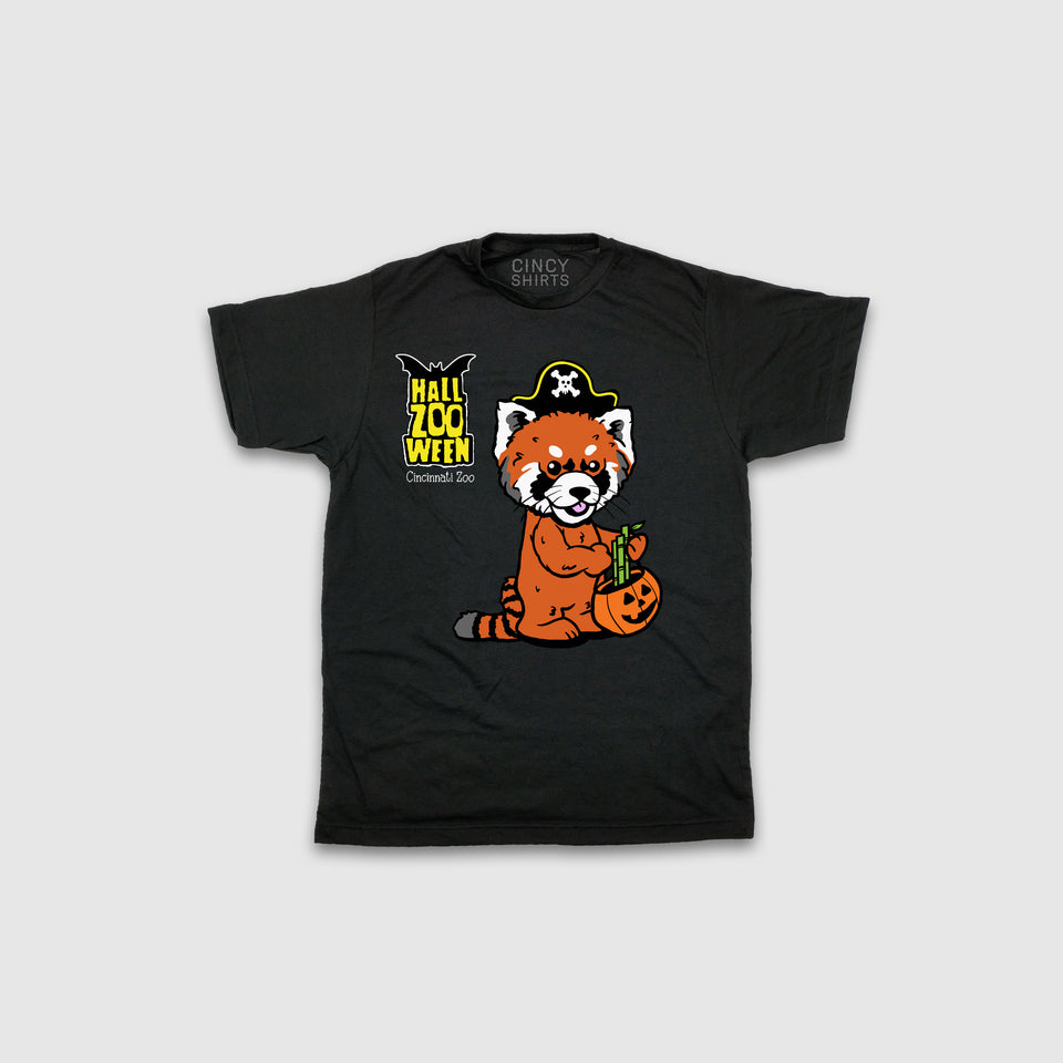 HallZOOween Red Panda Harriet - Youth Tee - Cincy Shirts