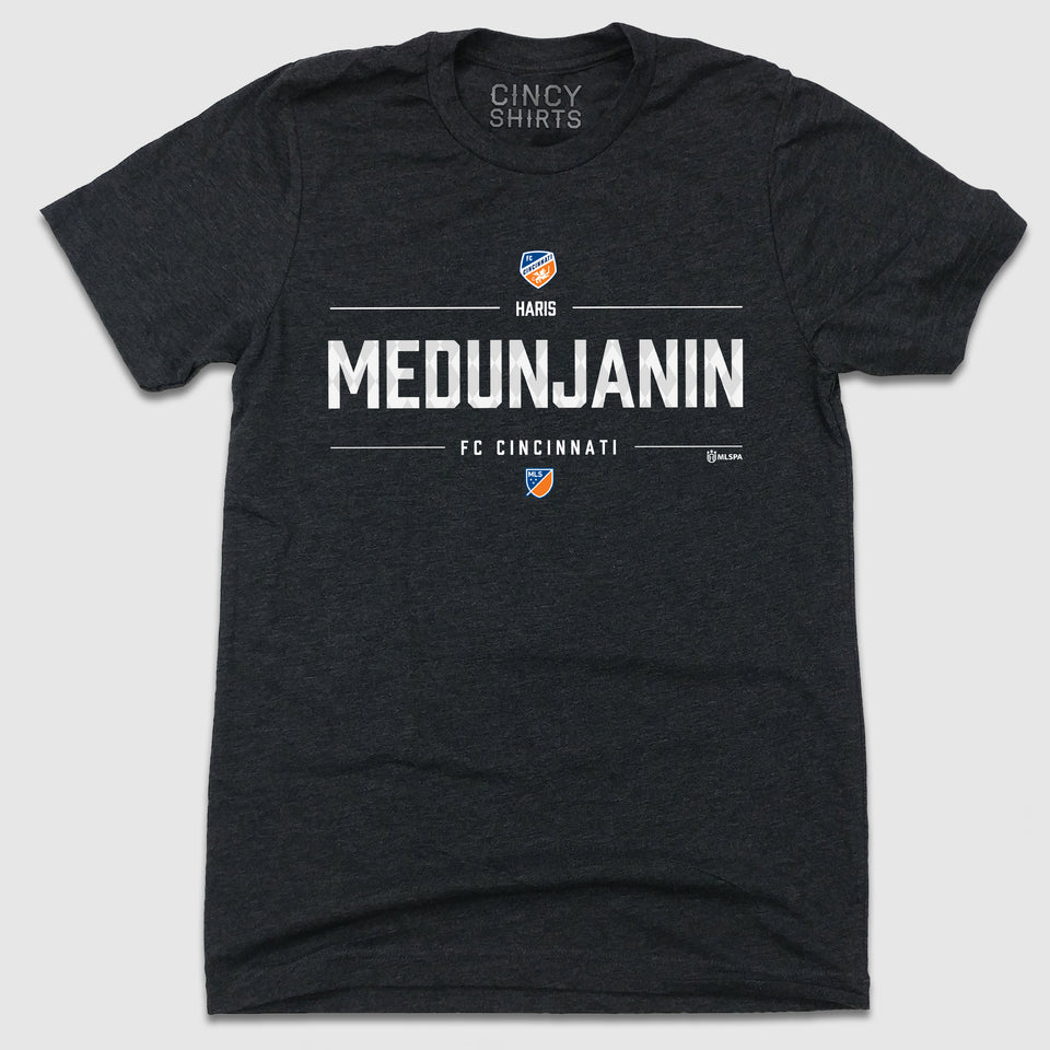 Official Haris Medunjanin MLSPA Designer Tee - Cincy Shirts