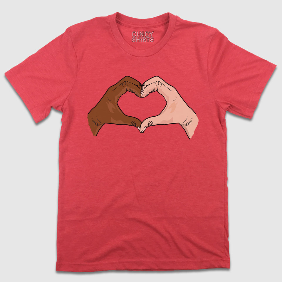 Heart Hands - Cincy Shirts
