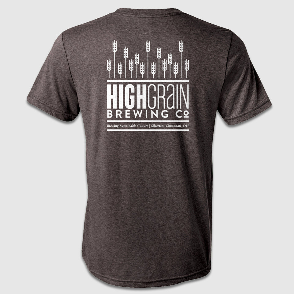 High Grain Pocket Logo Front & Back Design - Cincy Shirts